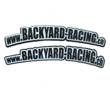 Backyard Racing Factory Fenderstickers
