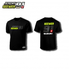 Shirt JS91 by Jeremy Seewer, schwarz