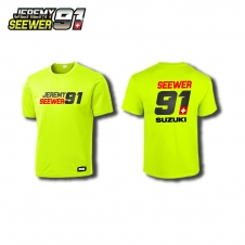Shirt JS91 by Jeremy Seewer, gelb
