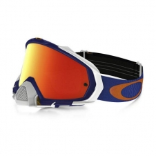 Oakley Goggle Mayhem Shockwave blau/orange