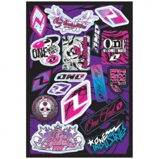 One Industries Girls Sticker Sheet
