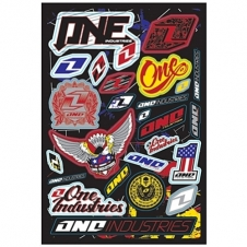 One Industries Logo Decal Sheet