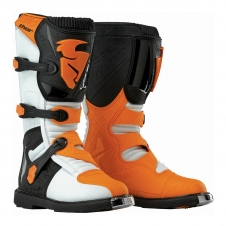 Thor Stiefel Junior BLITZ weiss/orange