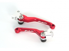ZAP Competition Flex Hebel Set für RMZ ab 05- rot